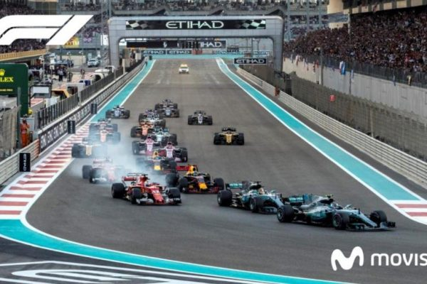 Formula Uno 2020 Televisión